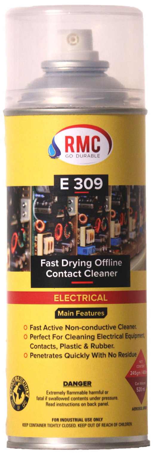 E 309 Fast Drying Contact Cleaner Renuka Multichem Aerosol And Circuit Board